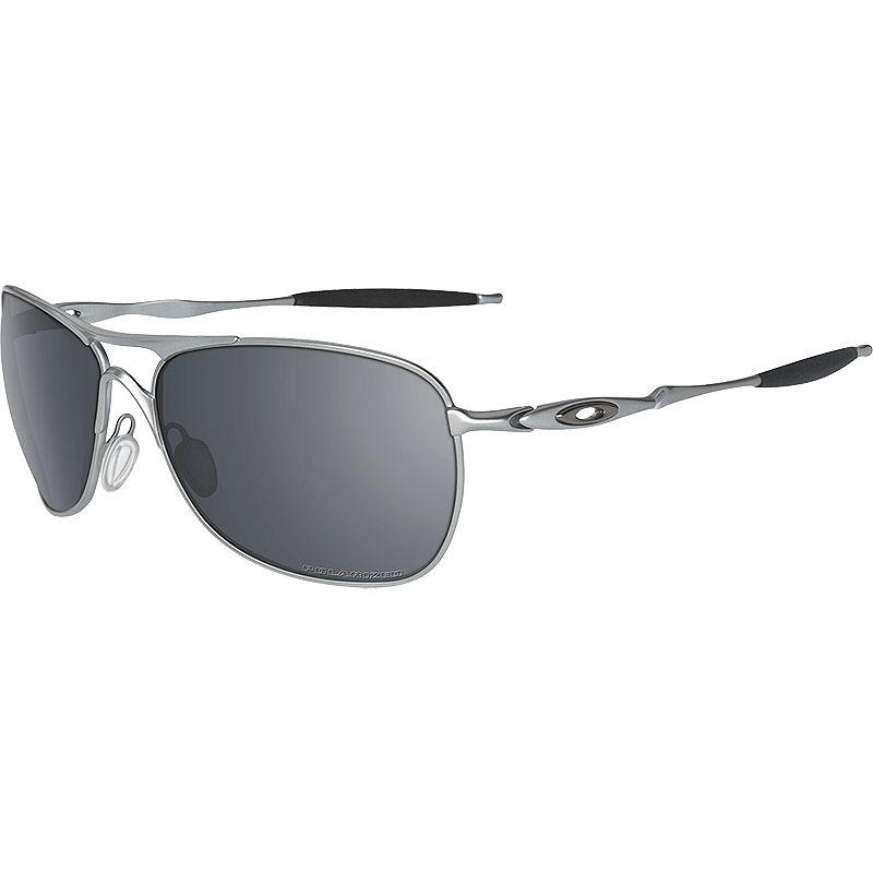 e562057087 UPC 700285545110. Oakley Crosshair Sunglasses - Polarized Lead Black Iridium  ...