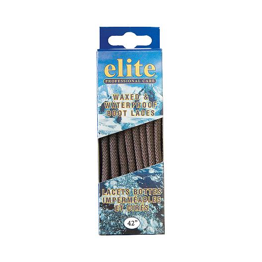 747073a90b Elite Wax   Waterproof 42 Inch Shoe Laces - Brown