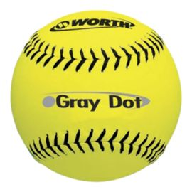 Worth Gray Dot Optic Yellow 12 .40 Ball