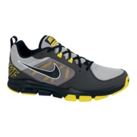 Nike Men's Velocitrainer Training Shoes - Grey/Black/Yellow