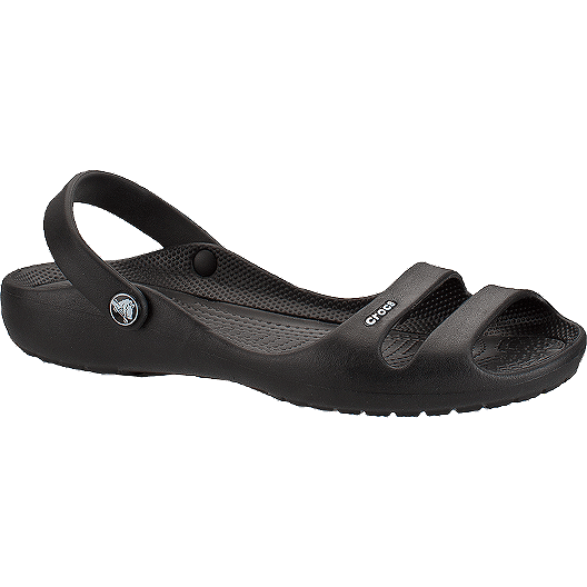 8d5eec490da Crocs Women s Cleo II Sandals - Black