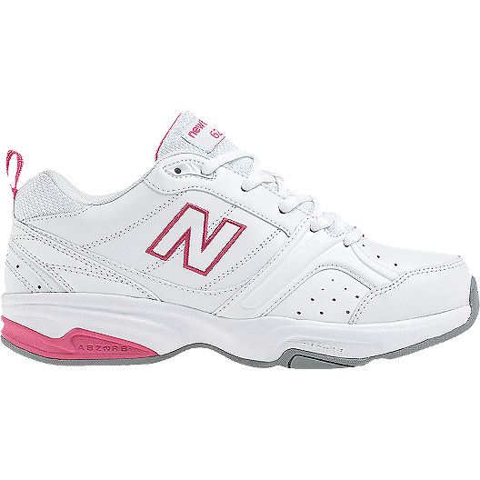 ea12ff8d37a New Balance Women s 623v2 D Wide Width Shoes - White Pink