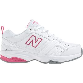 New Balance Women's 623v2 D Wide Width Shoes - White/Pink