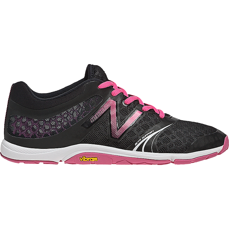 7f174a0e1937e New Balance Women s 20v3 B Training Shoes - Black Pink