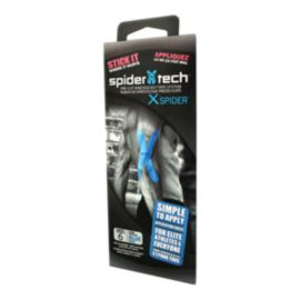 SpiderTech Universal X Spider Pre-Cut Therapeutic Tape - Blue - 6 Pack