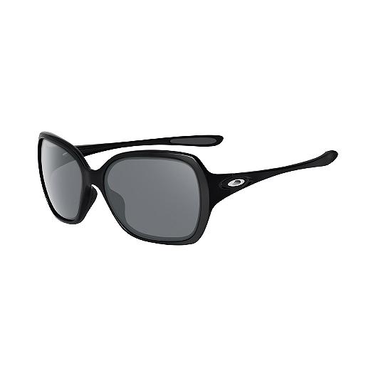 9bc8becb16f8 Oakley Overtime Women's Sunglasses - Black/Grey with Polished Black Lenses    Sport Chek