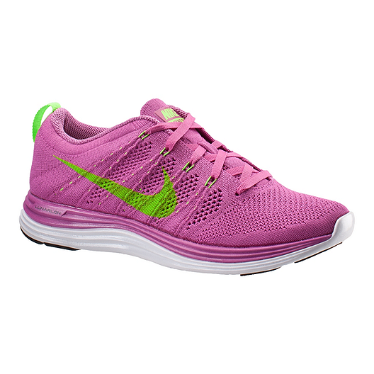 7575f2840512 Nike Lunar Flyknit One + Running Shoes Womens