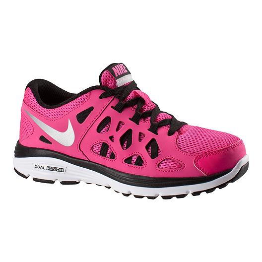 énorme réduction 809d9 f5157 Nike Dual Fusion Run Girls' Grade-School Running Shoes ...