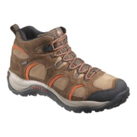 Merrell Men's Hikepoint Mid WP Lite-Hiking Shoes - Dark Earth