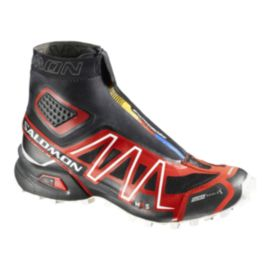 Salomon Men's Snowcross CS Trail Running Shoes - Black/Red