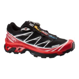 Salomon Men's XT S-Lab 6 Trail Running Shoes - Black/Red/White