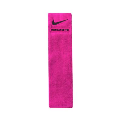 nike pink football towels