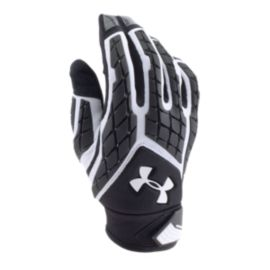 Under Armour Combat III Padded Football Glove - Black