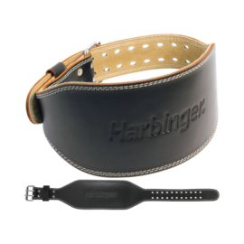 Harbinger 6 in. Padded Leather Belt