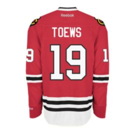 Chicago Blackhawks Jonathan Toews Pro Twill Hockey Jersey