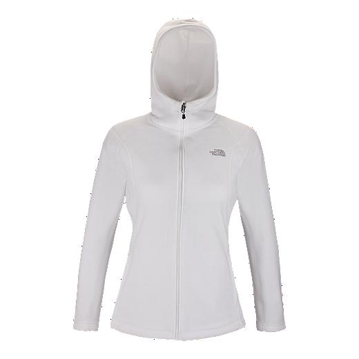 3922b403908 The North Face TKA 200 Women's Hooded Fleece - TNF WHITE FN4