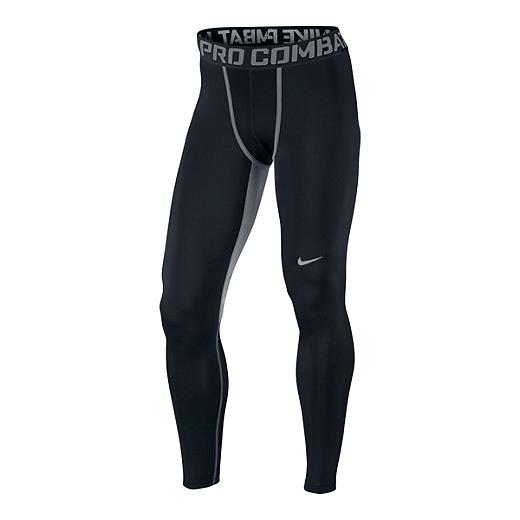 3671adcc0d737 Nike Pro Combat Hyperwarm Dri-FIT Max Compression Tights Mens - BLACK/COOL  GREY