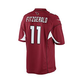 37864c306d50 Arizona Cardinals Larry Fitzgerald Red Jersey