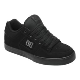 DC Men's Pure Skate Shoes - Black