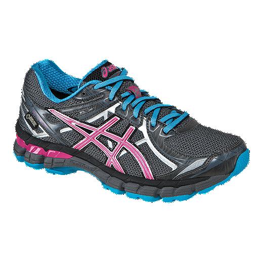 Asics Women S Gt 2000 2 Gtx Trail Running Shoes Dark Grey Blue