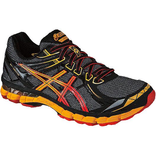 6ca2492888fd ASICS Men s GT 2000 2 Trail Running Shoes - Black Dark Grey Orange ...