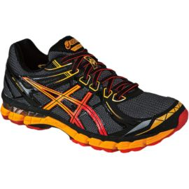 ASICS Men's GT 2000 2 Trail Running Shoes - Black/Dark Grey/Orange