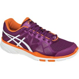 ASICS Women's Gel Harmony TR2 Training Shoes - Purple/Orange