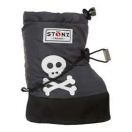 Stonz Booties Skull And Crossbones Toddler Boots