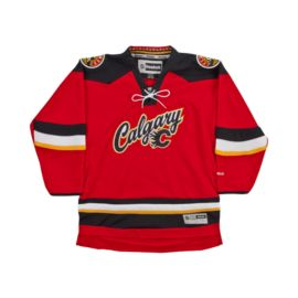 Calgary Flames Youth Premier Third Hockey Jersey - Red