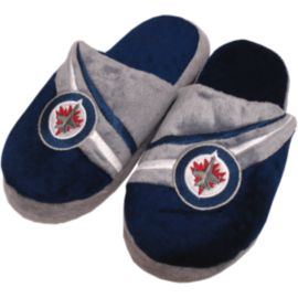 Winnipeg Jets Kids' Stripe Slippers