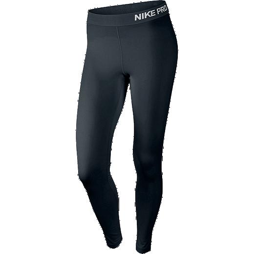 a8611f5d0ba03 Nike Pro Women's Tights - 010 BLACK/WHITE