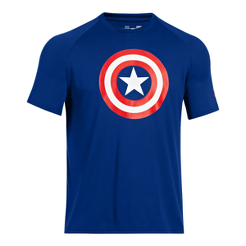 de4f4d488 Under Armour Transform Yourself Captain America Men s Core Short Sleeve T- Shirt