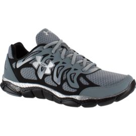 Under Armour Men's Micro G Engage Running Shoes - Grey/Black/Silver