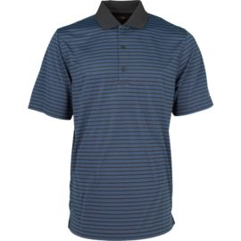 Greg Norman Program Stripe Men's Golf Polo Top