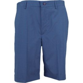 Greg Norman Flat Front Minicheck Men's Golf Shorts