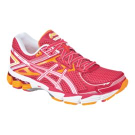 ASICS Women's GT-1000 2 Running Shoes - Pink/Orange/White
