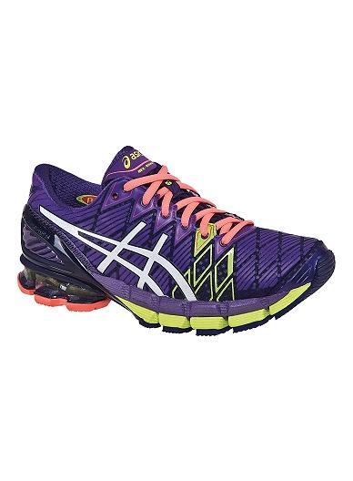 new product b8485 8d545 ASICS Women s Gel Kinsei 5 Running Shoes - Purple Yellow White   Sport Chek