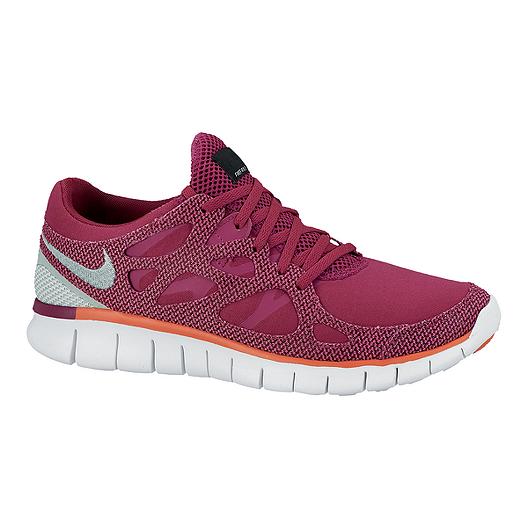 dcbf2ea8090 Nike Women s Free Run 2 EXT Running Shoes - Magenta Purple Silver ...