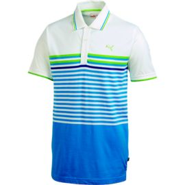 PUMA Golf CB Men's Stripe Polo