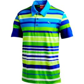 PUMA Golf Roadmap Men's Stripe Polo