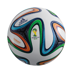 24fcfab0c1 adidas World Cup 2014 Brazuca Official Match Ball