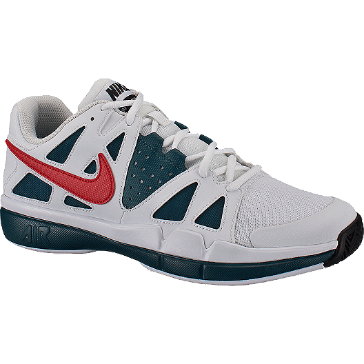 c7dbebb2f7e5 Nike Men s Air Vapor Advantage Tennis Shoes - White Turqoise Red ...