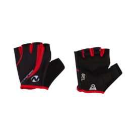 Nakamura Tofino  Short Fingered Bike Glove Red Black