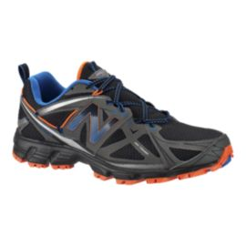 New Balance Men's MT610 V3 2E Wide Width Running Shoes - Black/Grey/Blue