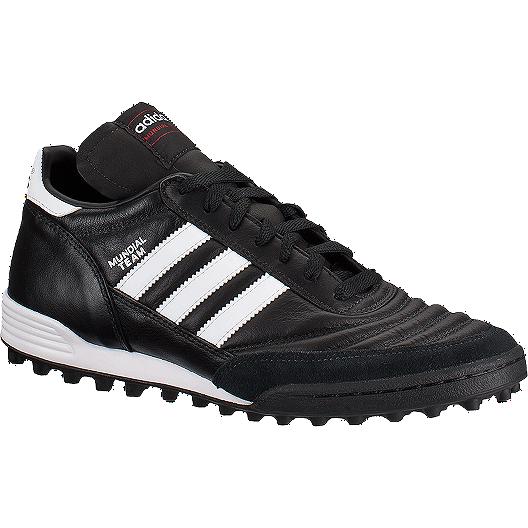d4d8d5655 adidas Men s Mundial Team Turf Indoor Soccer Shoes - Black White ...
