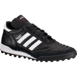 Adidas uomini mundial squadra erba indoor scarpe nero / bianco