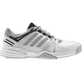 adidas Men's Response Match Tennis Shoes - White/Grey/Black