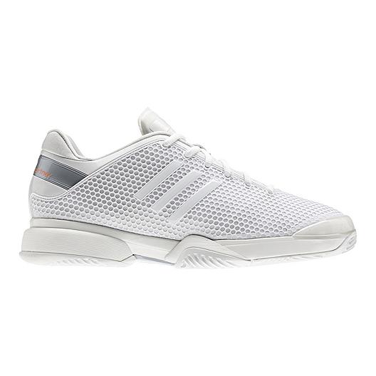 5a02fbdc789c8 adidas Women s Stella McCartney Barricade Tennis Shoes - White ...