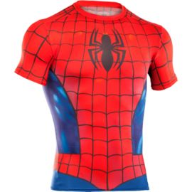 Under Armour Transform Yourself Spider-Man Men's Classic Compression Short Sleeve Top