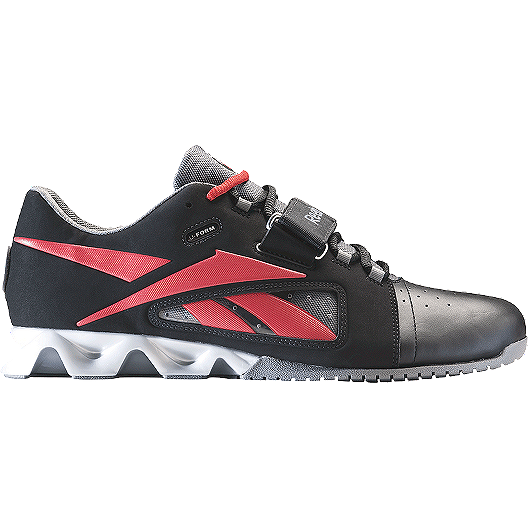 ca71afb64fed Reebok Men s CrossFit Oly Lifter Weightlifting Shoes - Black Red Grey